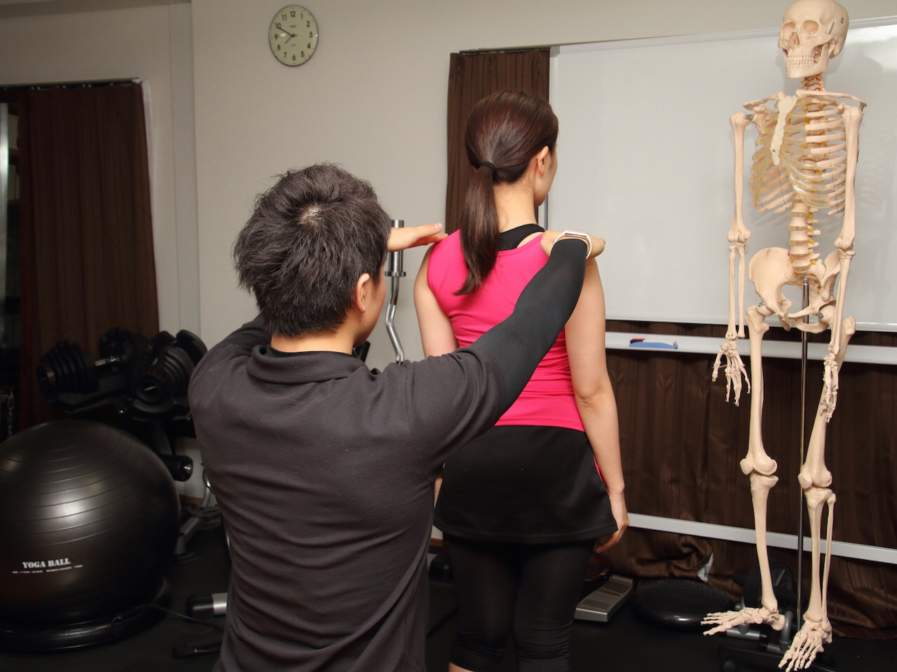 姿勢分析と改善アプローチ